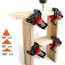 60/90/120 Degree Right Angle Clamp Corner Mate Woodworking Hand Fixing Clips