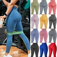Women Seamless Leggings Yoga Pants High Waist Push Up Fitness Gym Workout Sports