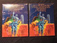 1977 Marvel Comics Index #4 Fantastic Four VG/VG+ Jim Steranko Cover LOT of 2
