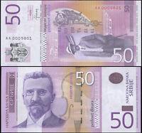 Serbie 50 Dinara. NEUF 2014 Billet de banque Cat# P.56b