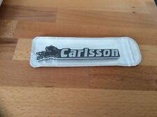 🇩🇪Top Rarität grosser 14cm Mercedes Carlsson Tuning Schriftzug Schwarz Chrome