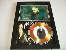 michael buble  SIGNED  GOLD CD  DISC 095