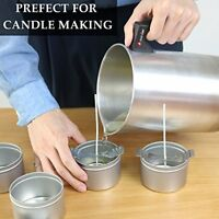 Wax Melting Pitcher DIY Candle Making Pouring Pot Heat Resisting Handle 4 pounds