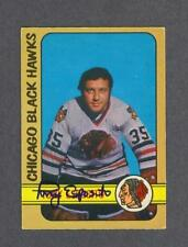 Tony Esposito signed Chicago Blackhawks 1972-73 Opee Chee hockey card