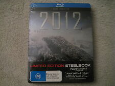 2012 Blu-ray Steelbook B.New Sealed Australian version