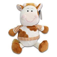 COWS Plush Stuffed Animal Brown White Kids Toys Wearing Shirt  Kellytoy New