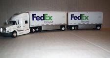 Trucks n Stuff # FX8167 Prostar Sleeper-Cab Tractor w/2 DropDeck Trailers HO MIB
