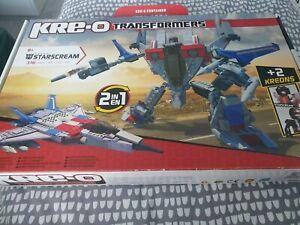 Transformers Kreo Kre-o 30667 Starscream Brand New Sealed Set 316 Pieces