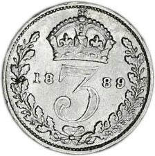 GREAT BRITAIN coin 3 Pence 1889 XF