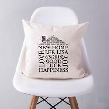Patternless Square 100% Cotton Decorative Cushions