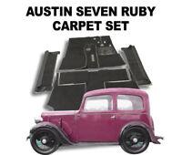 Austin Ruby Carpet Set Austin Seven - Superior Deep Pile Latex Backed