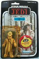 VINTAGE STAR WARS 1983 KENNER ROTJ EWOK LOGRAY 77 BACK MOC ANAKIN OFFER HK COO