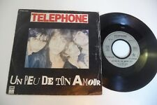 45t telephone a bit of your love/makes various. emi pathe France. 7""