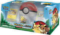 Pokemon Toys - Pikachu and Eevee Pokeball Collection - Promo Cards Booster Packs