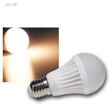 5 x LED-Glühbirne E27 G40 SMD warmweiß 360lm, Leuchtmittel 230V Birne Glühlampe