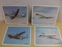 British European Airways – BEA Fleet set of four Trade Cards c 1970 1960s