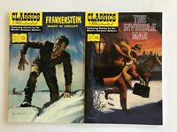 Classics Illustrated Softcovers Frankenstein + The Invisible Man