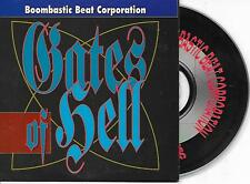 BOOMBASTIC BEAT CORPORATION - Gates of hell CDS 2TR Euro House 1993 INDISC RARE!