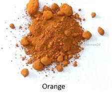 Oxidfarbe Pigment 1kg - Oxidpigment für Betonmasse, Putz, Gips Farbe : Orange