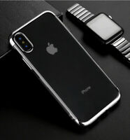 Case for iPhone XS MAX Luxury Ultra Slim Bumper Shockproof Silicone Cover Black