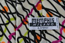 18)   MEMPHIS MILANO    MEN'S  TIE 100% SILK  MADE IN ITALY