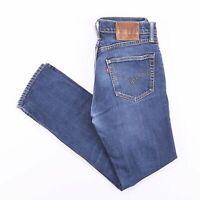 Vintage LEVI'S 511 Slim Straight Fit Men's Blue Jeans W30 L28