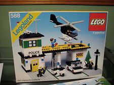 Vintage 1978 Legoland Police Headquarters 588 Complete w/ Box and Directions