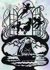 BOTHY THREADS  XFT6  PETER PAN  Counted  Cross Stitch  Kit