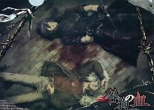 Togainu no Chi clear plastic file folder official Japan movic Akira Shiki anime
