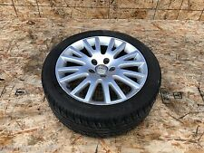 AUDI A6 C6 17 17 INCH 17X7.5 WHEEL AND TIRE ASSEMBLY #1 OEM