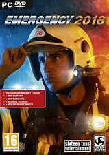 Emergency 2016 (PC DVD) NEW & Sealed - Despatched from UK