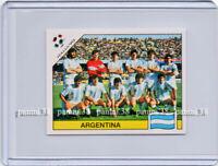 "RARE !! Sticker ARGENTINA TEAM - MARADONA ""WORLD CUP - ITALIA 90"" Panini"