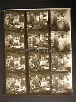 1957 Ruth Roman Five 5 Steps To Danger VINTAGE CONTACT SHEET 22B