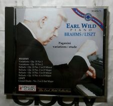 Earl Wild Plays Brahms and Liszt • Paganini Variations / Etude - CD Compilation