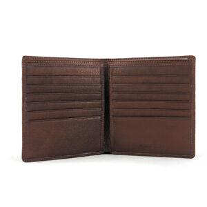 Osgoode Marley RFID Twelve Pocket Hipster Wallet Black 1275B