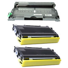 DR350 Drum + 2PK TN350 Toner for Brother DCP-7010/7020/7025 MFC-7220/7420/7820