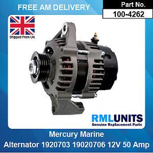 Alternator For Mercury Marine 19020703 19020706 19020706EL