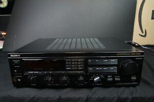 Vintage Sony STR-GX7ES FM-AM Stereo Video Receiver w/ Remote Japan