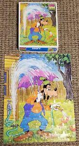 Walt Disney GOOFY 100 piece JIGSAW PUZZLE 14 x 18 Whitman 4605-25 Complete 1981
