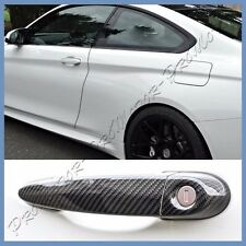 Carbon Fiber Door Handle Cover Hood Set Fit 2015+ BMW F82 M4 Coupe Convertible