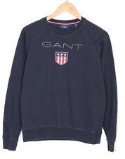 GANT Navy Blue Crew Neck Jumper Sweatshirt Boys Youth Size 16 Years 176 cm