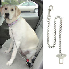 Dog Pet Car Safety Seat Belt Harness Restraint Chain Leads Travel Clip Buckle