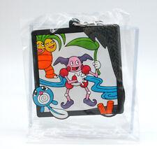 Pokemon Center Hanafuda Mr Mime Exeggcutor Poliwag rubber strap keychain charm