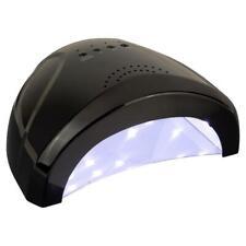 LED UV Lampe Gel 24/48 Watt Nagelstudio Lichthärtungsgerät Nagel Lampe Schwarz