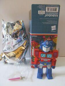 """Optimus Prime - 3"""" Vinyl Mini by Kidrobot - Transformers Vs. G.I. Joe - Opened"""