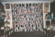 STRIP Antique Quilt,  Afro-American Type,  c1890-1900  Velcroed for Hanging