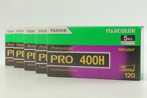 [Brand New] DISCONTINUED Fujifilm 400H 25roll 120 Color Negative Film From JAPAN
