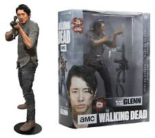 "The walking dead glenn rhee 10"" deluxe action figure McFarlane pre-commande"