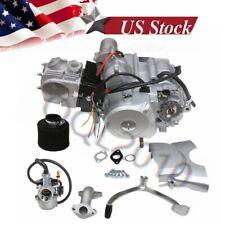 125CC SEMI AUTO ENGINE MOTOR 3 SPEED +REVERSE ATV QUAD GO KART ELECTRICAL START