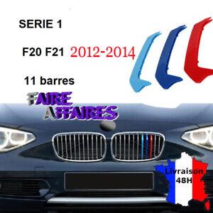 3 Clip bandes Grille Calandre BMW M Motorsport Performance F20 F21 114D 116D 118